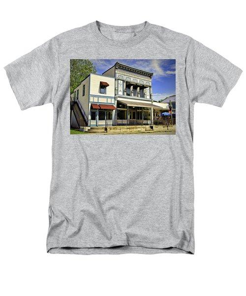 Samuel Hackmann Building Men's T-Shirt  (Regular Fit) by Cricket Hackmann
