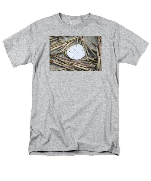 Sand Dollar Salad Men's T-Shirt  (Regular Fit) by Tammy Schneider