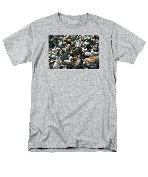 Sanibel Shells Men's T-Shirt  (Regular Fit) by Sandy Molinaro