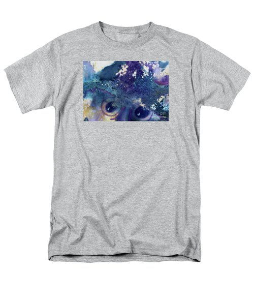 Men's T-Shirt  (Regular Fit) featuring the painting Scarecrow Eyes by Kathy Braud