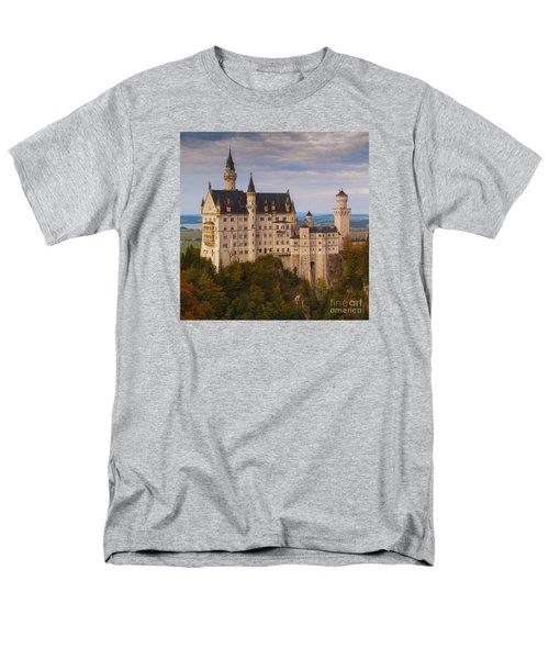 Schloss Neuschwanstein Men's T-Shirt  (Regular Fit) by Franziskus Pfleghart