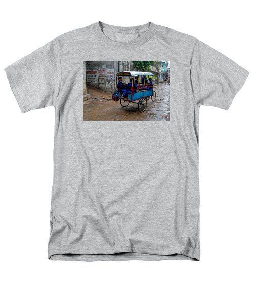 School Cart Men's T-Shirt  (Regular Fit)