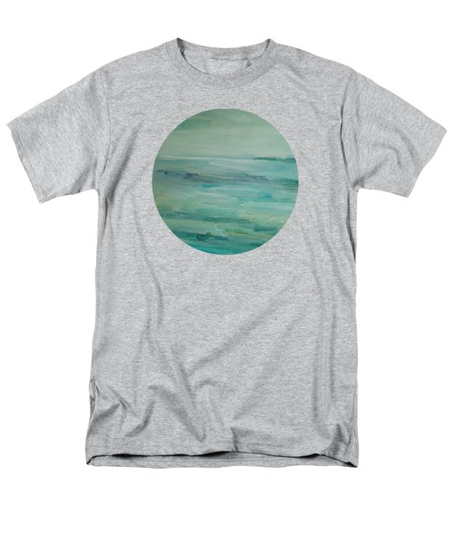 Men's T-Shirt  (Regular Fit) featuring the painting Sea Glass by Mary Wolf