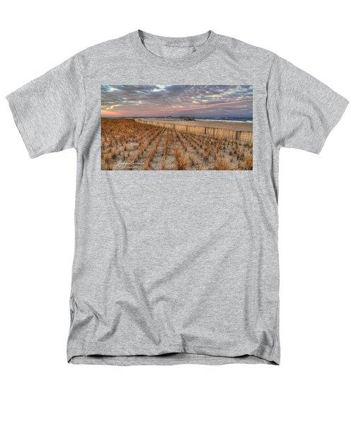 Sea Oats Men's T-Shirt  (Regular Fit) by John Loreaux