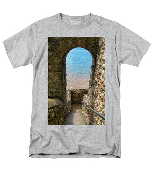 Men's T-Shirt  (Regular Fit) featuring the photograph Sea View Arch by Scott Carruthers