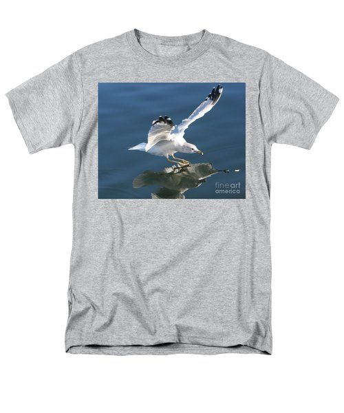 Seagull Reflection Men's T-Shirt  (Regular Fit) by Rod Jellison