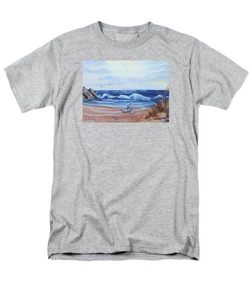 Seascape Men's T-Shirt  (Regular Fit) by Denise Fulmer