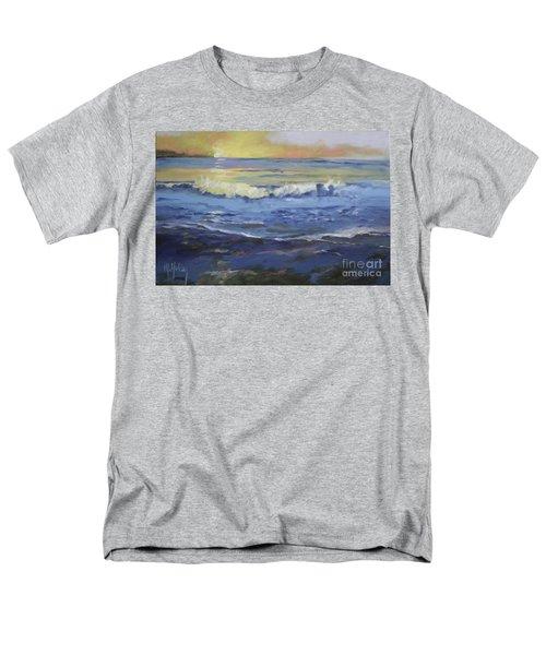 Seaside Men's T-Shirt  (Regular Fit) by Mary Hubley