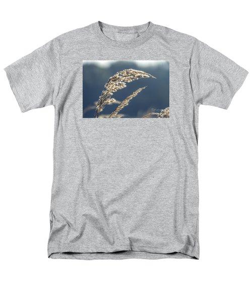 Men's T-Shirt  (Regular Fit) featuring the photograph Sedge Grass by Odon Czintos