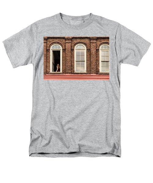 Selfie In The Window Men's T-Shirt  (Regular Fit)