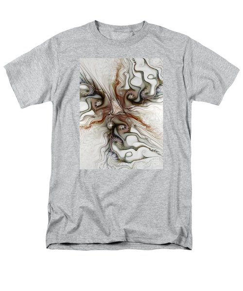 Men's T-Shirt  (Regular Fit) featuring the digital art Sensuality by Karin Kuhlmann