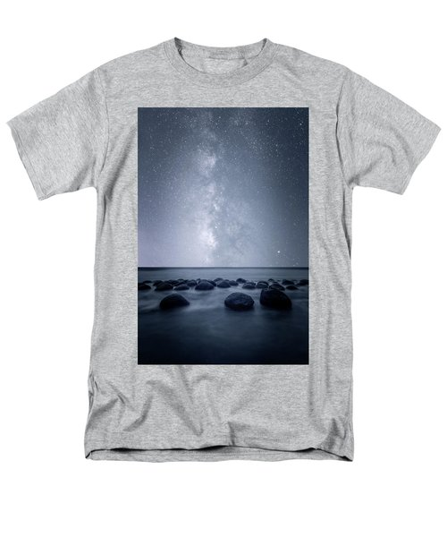 Men's T-Shirt  (Regular Fit) featuring the photograph Septarian Concretions by Dustin LeFevre
