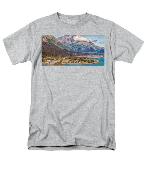 Seward Alaska Men's T-Shirt  (Regular Fit) by Michael Rogers