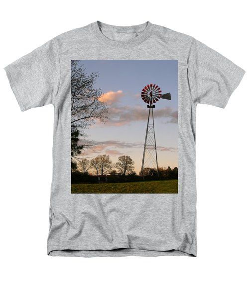 Men's T-Shirt  (Regular Fit) featuring the photograph Shadows Fall  by Bonnie Willis