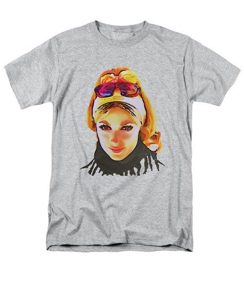 Sharon Marie Tate Men's T-Shirt  (Regular Fit) by Sergey Lukashin