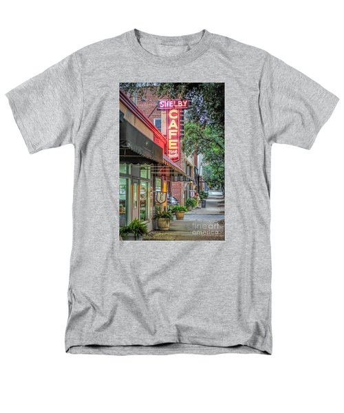 Shelby Cafe Men's T-Shirt  (Regular Fit) by Marion Johnson