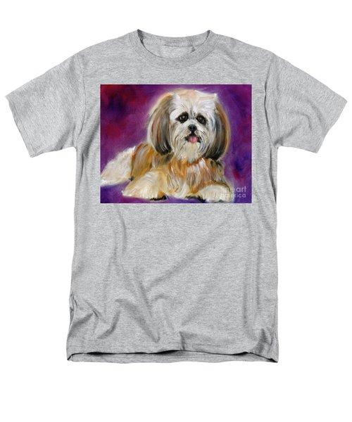 Shih-tzu Puppy Men's T-Shirt  (Regular Fit) by Jenny Lee