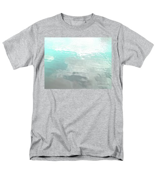 Let The Water Wash Over You. Men's T-Shirt  (Regular Fit) by Rebecca Harman