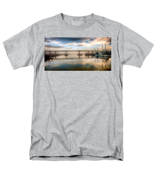 Shrimp Boats At Sunrise Men's T-Shirt  (Regular Fit)