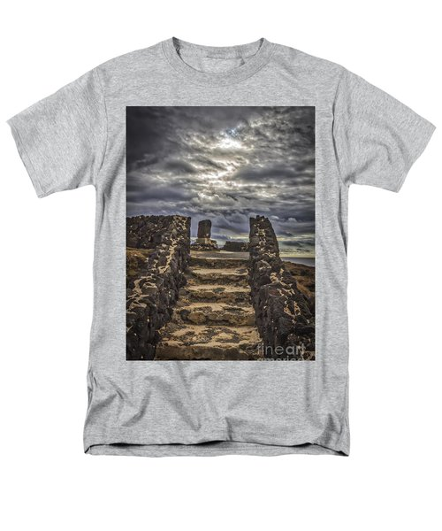 Men's T-Shirt  (Regular Fit) featuring the photograph Shrine To Drowned Fishermen by Mitch Shindelbower