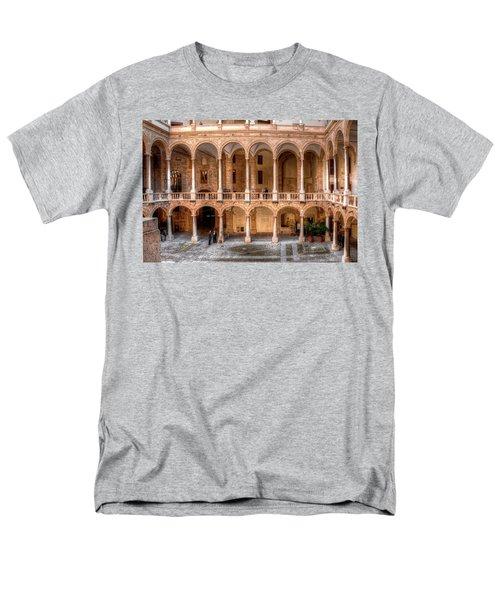 Sicilian Parliament Bldg Men's T-Shirt  (Regular Fit) by Patrick Boening
