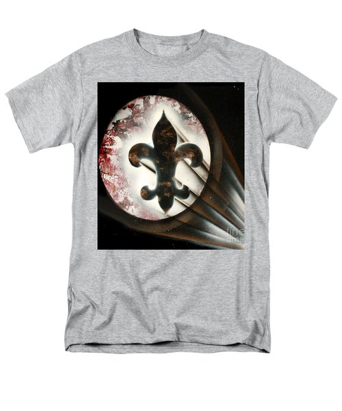 Men's T-Shirt  (Regular Fit) featuring the painting Signal Di Lis by Tbone Oliver