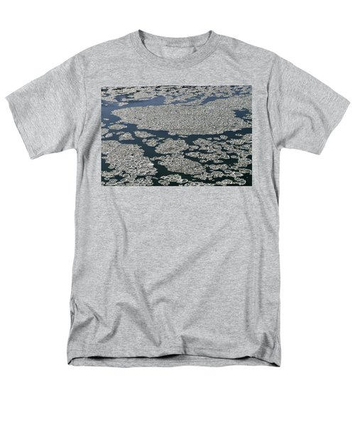 Men's T-Shirt  (Regular Fit) featuring the photograph Signs Of Winter by Rhonda McDougall