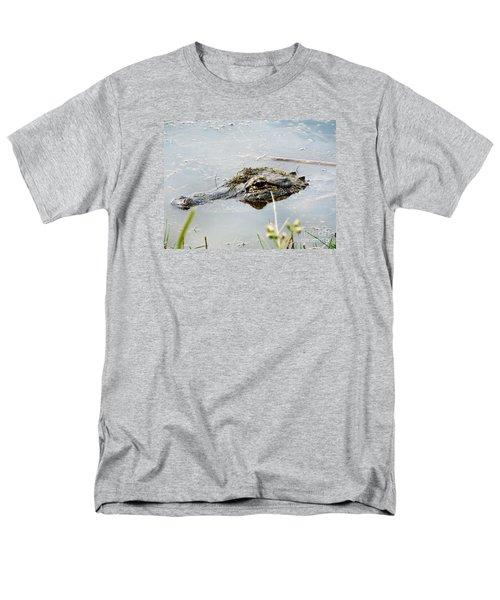 Silent Predator Men's T-Shirt  (Regular Fit) by Audrey Van Tassell