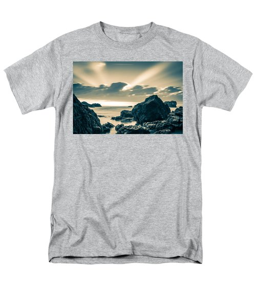 Men's T-Shirt  (Regular Fit) featuring the photograph Silver Moment by Thierry Bouriat