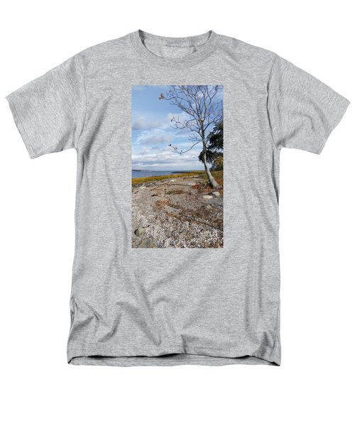 Silver Sands Men's T-Shirt  (Regular Fit) by Raymond Earley