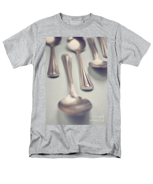 Men's T-Shirt  (Regular Fit) featuring the photograph Silver Spoons by Lyn Randle
