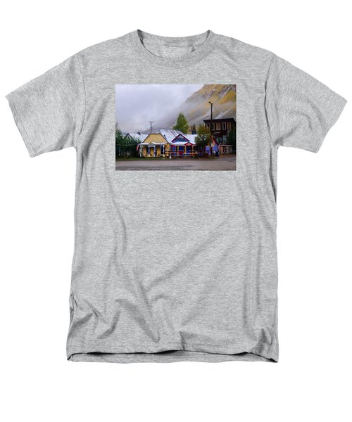 Silverton Back Street Men's T-Shirt  (Regular Fit) by Laura Ragland