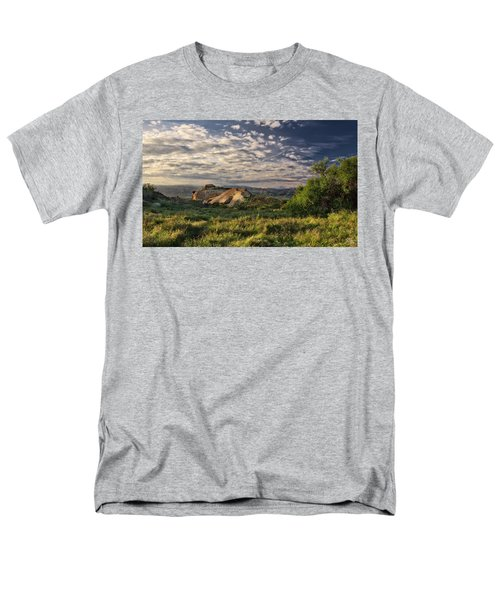 Simi Valley Overlook Men's T-Shirt  (Regular Fit) by Endre Balogh