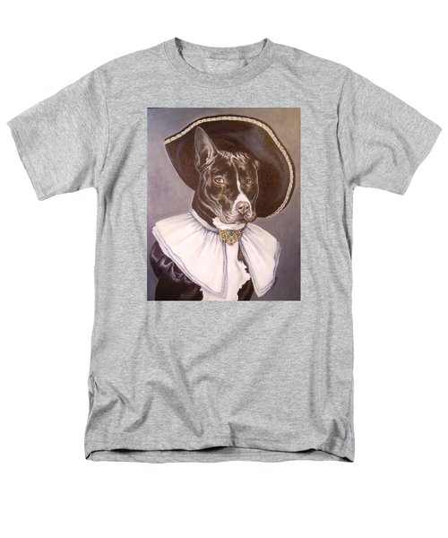 Men's T-Shirt  (Regular Fit) featuring the painting Sir Pibbles by Laura Aceto