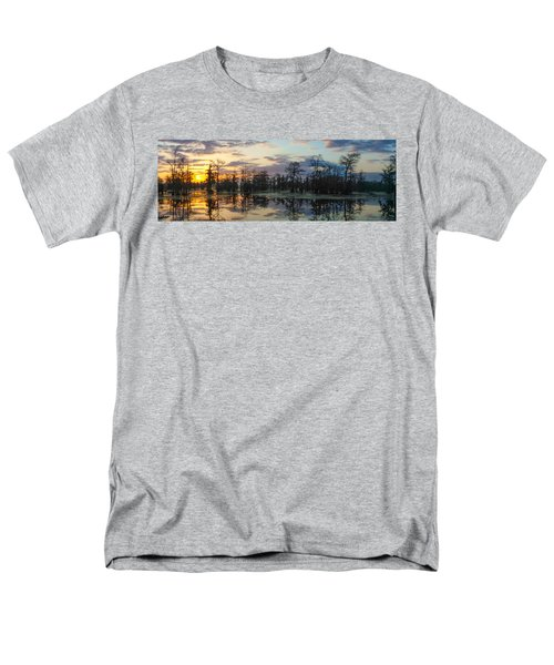 Skies Across The North End Men's T-Shirt  (Regular Fit) by Kimo Fernandez