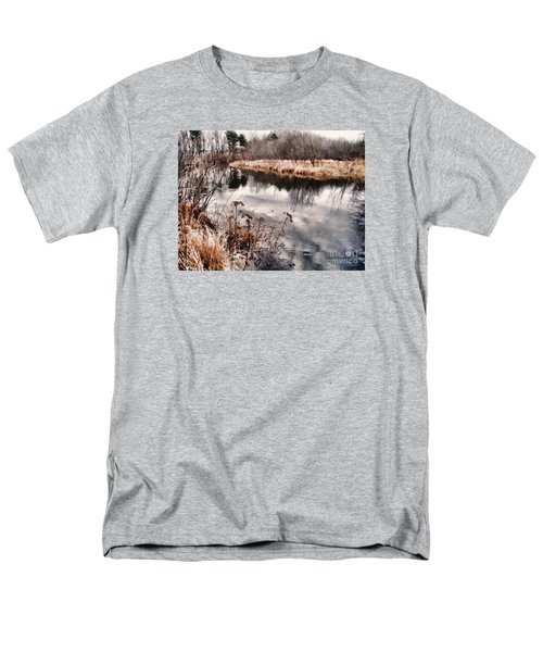 Men's T-Shirt  (Regular Fit) featuring the photograph Sky Low by Betsy Zimmerli
