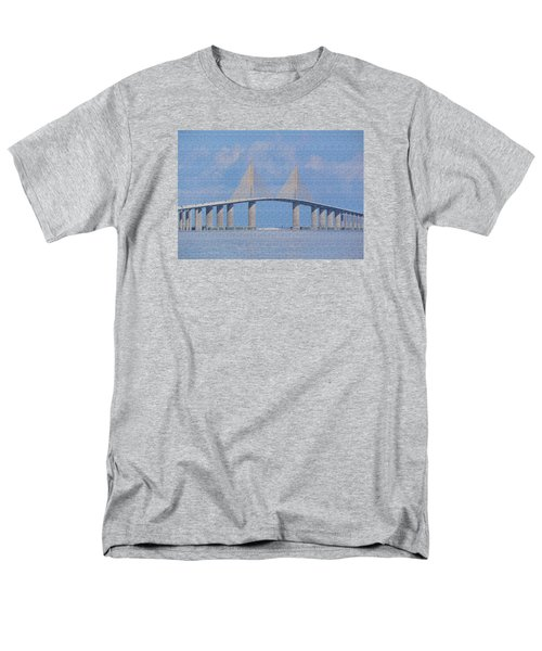 Skyway Bridge Men's T-Shirt  (Regular Fit) by Rosalie Scanlon