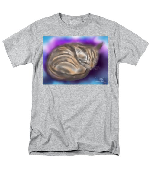 Men's T-Shirt  (Regular Fit) featuring the painting Sleepy Sam by Nick Gustafson