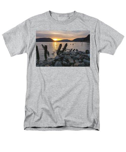Sleepy Waterfront Dream Men's T-Shirt  (Regular Fit) by Angelo Marcialis