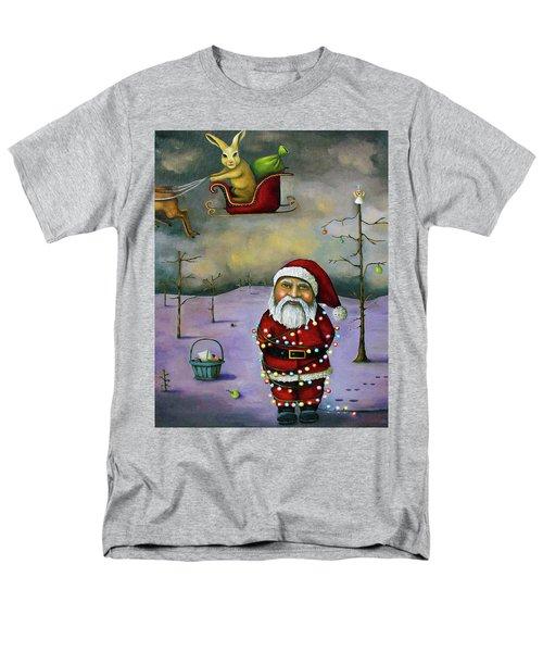 Sleigh Jacker Men's T-Shirt  (Regular Fit) by Leah Saulnier The Painting Maniac