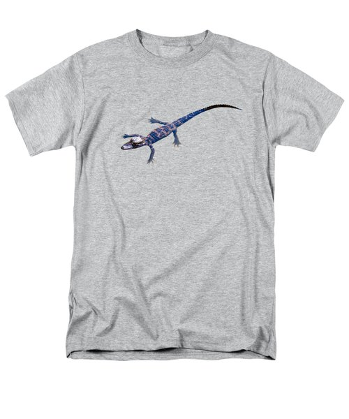 Slightly Waving A Tail. Alligator Baby Men's T-Shirt  (Regular Fit) by Zina Stromberg