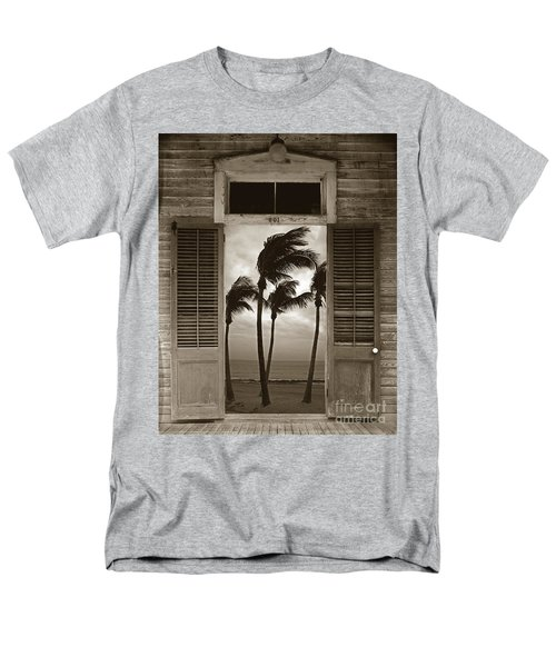 Men's T-Shirt  (Regular Fit) featuring the photograph Slip Away To Paradise by John Stephens