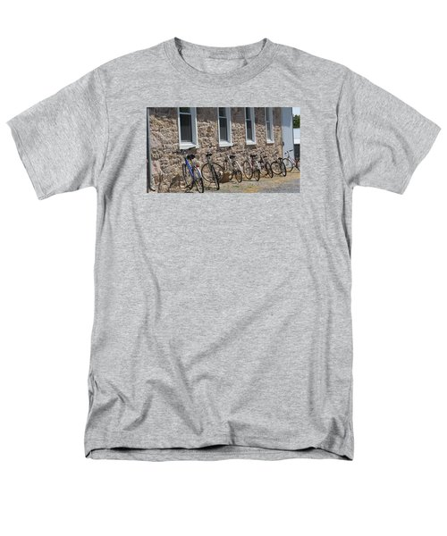 Small Country School Men's T-Shirt  (Regular Fit) by Jeanette Oberholtzer
