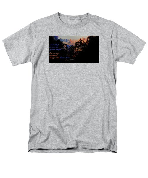 Men's T-Shirt  (Regular Fit) featuring the photograph Small Counts by David Norman