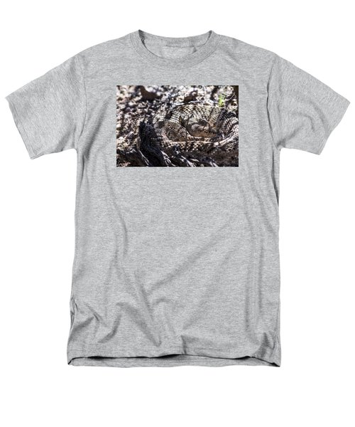 Snake In The Shadows Men's T-Shirt  (Regular Fit) by Chuck Brown