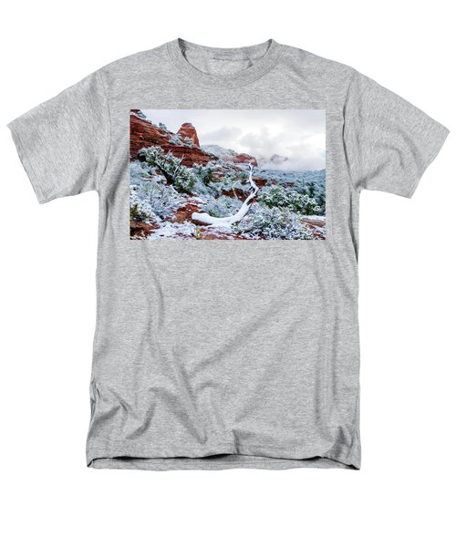 Snow 05-024 Men's T-Shirt  (Regular Fit) by Scott McAllister
