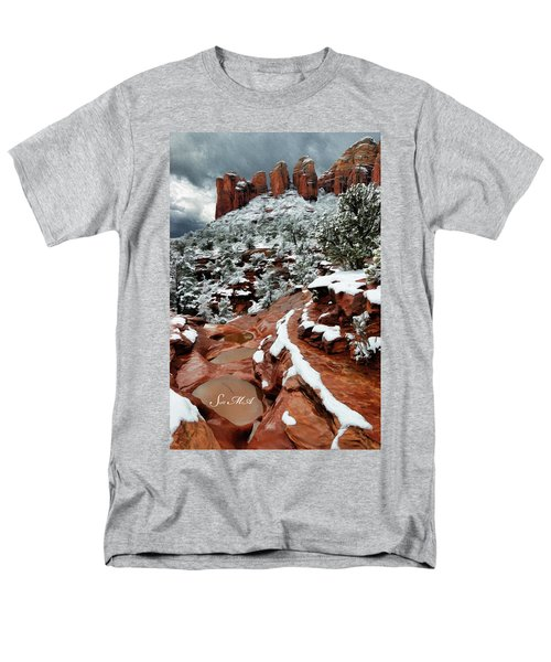 Snow 06-068 Men's T-Shirt  (Regular Fit) by Scott McAllister
