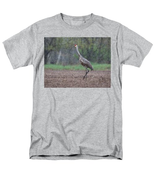Men's T-Shirt  (Regular Fit) featuring the photograph Snow Day by Thomas Young