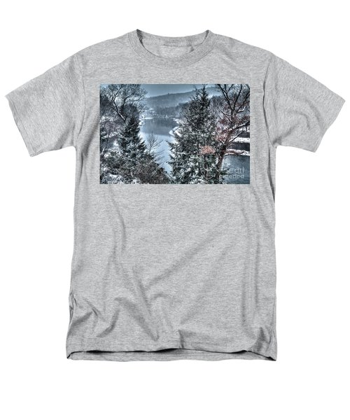 Men's T-Shirt  (Regular Fit) featuring the photograph Snow Squall by Tom Cameron
