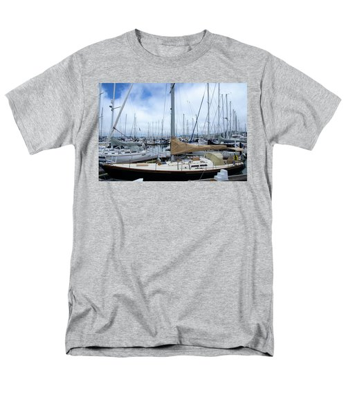 So Many Sailboats Men's T-Shirt  (Regular Fit) by Laura DAddona